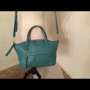 Cole Haan Women's light blue crossbody handbag